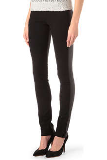 ISABEL MARANT Leather-back leggings
