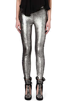 ISABEL MARANT Cybele leather trousers