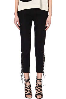ISABEL MARANT Driss cropped trousers
