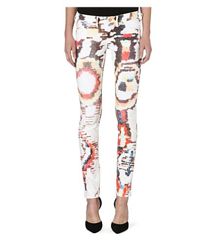 ISABEL MARANT ETOILE Relly skinny stretch-denim jeans (White