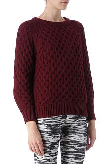 ISABEL MARANT Noreen textured jumper