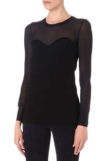 ISABEL MARANT Ashton sweetheart jumper