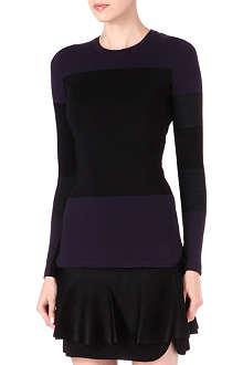 ISABEL MARANT Colour-block knitted jumper