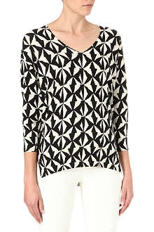 ISABEL MARANT ETOILE Maegan silk-blend knitted top