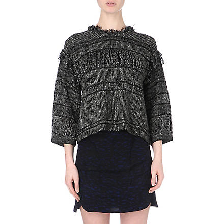 ISABEL MARANT Glimy knitted jumper (Anthracite