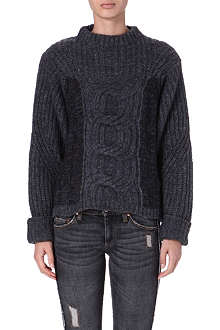 ISABEL MARANT ETOILE Romer cable-knit knitted jumper