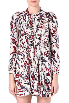 ISABEL MARANT Salvia printed dress