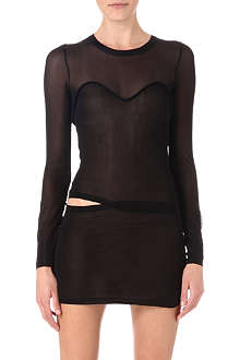 ISABEL MARANT Chiara semi-sheer dress
