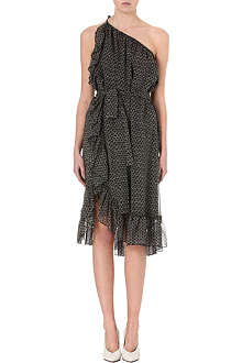 ISABEL MARANT Aiden printed silk dress