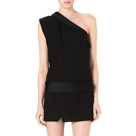 ISABEL MARANT Ormand asymmetric dress (Black