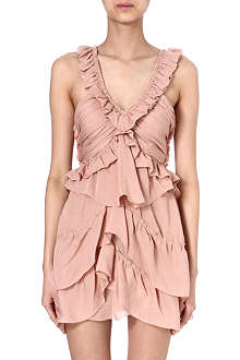 ISABEL MARANT Heron silk-georgette dress