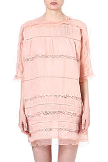 ISABEL MARANT Odrys lace-insert dress