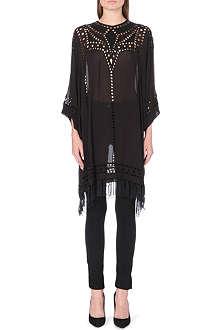 ISABEL MARANT ETOILE Enery embroidered chiffon dress