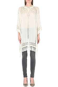 ISABEL MARANT ETOILE Enery embroidered chiffon dress