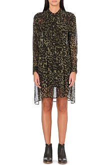 ISABEL MARANT ETOILE Cray animal-print chiffon dress