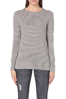 ISABEL MARANT ETOILE Iliesse striped linen top