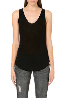 ISABEL MARANT ETOILE Louisa ribbed vest top