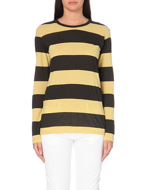 ISABEL MARANT ETOILE Striped cotton t-shirt