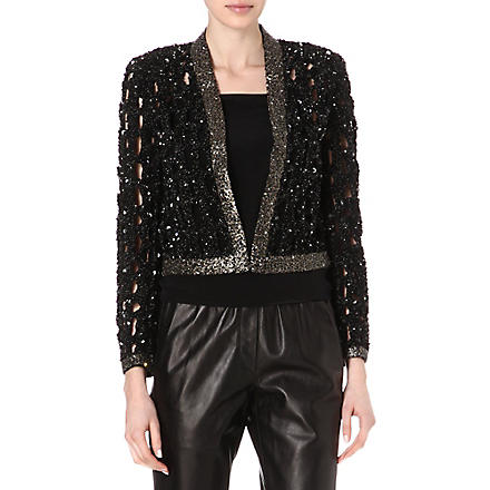 ISABEL MARANT Glowy embellished jacket (Black