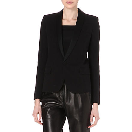 ISABEL MARANT Jane smoking tux blazer (Black