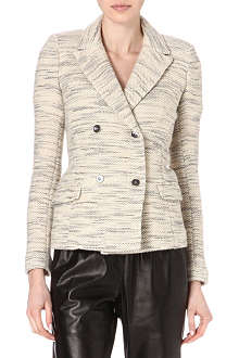ISABEL MARANT Lali double-breasted woven blazer