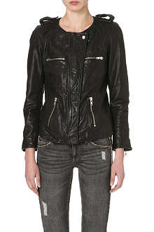 ISABEL MARANT ETOILE Bacuri leather jacket
