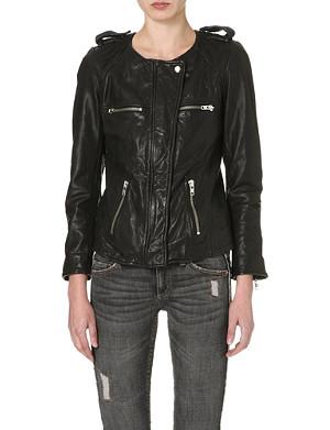ISABEL MARANT ETOILE Bacuri leather jacket