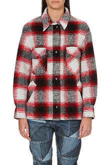 ISABEL MARANT ETOILE Gaston check jacket