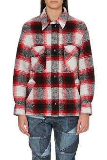 ISABEL MARANT ETOILE Gaston check jacket