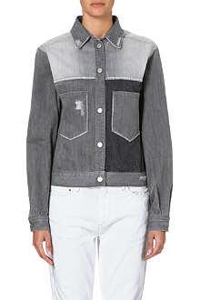 ISABEL MARANT ETOILE Demmo patchwork denim jacket
