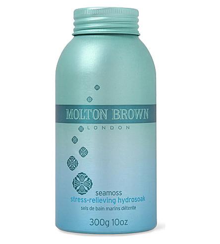 MOLTON BROWN Seamoss stress-relieving hydrosoak 300g