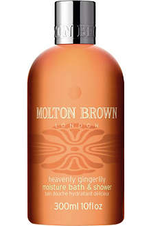 MOLTON BROWN Heavenly Gingerlilly bath and shower gel 300ml