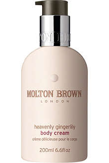 MOLTON BROWN Heavenly Gingerlilly body cream