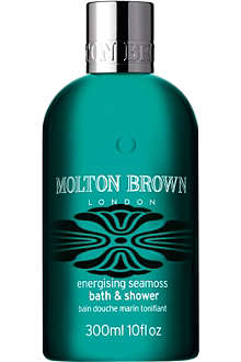 MOLTON BROWN Energising Seamoss bath and shower gel 300ml