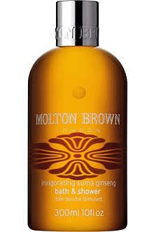 MOLTON BROWN Invigorating Suma Ginseng bath and shower gel 300ml
