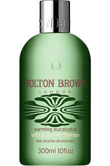 MOLTON BROWN Warming Eucalyptus bath and shower gel 300ml