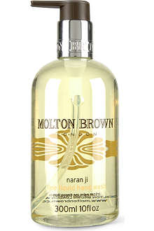 MOLTON BROWN Naran Ji fine liquid hand wash 300ml