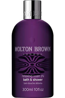 MOLTON BROWN Relaxing Yuan Zhi bath and shower gel 300ml