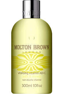 MOLTON BROWN Vitalising Vitamin AB+C bath and shower gel 300ml