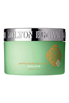 MOLTON BROWN Warming Eucalyptus and Ginger salt scrub 300g