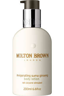 MOLTON BROWN Invigorating Suma Ginseng body lotion 200ml