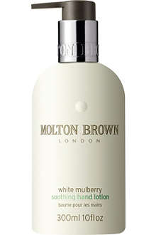 MOLTON BROWN White Mulberry soothing hand lotion 300ml