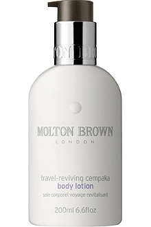 MOLTON BROWN Travel-reviving Cempaka body lotion 200ml