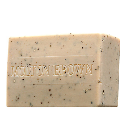 MOLTON BROWN Re-charge Black Pepper body scrub bar 250g