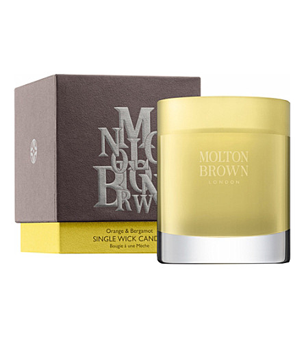 MOLTON BROWN Orange & Bergamot Medio candle