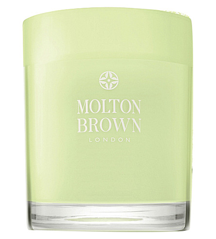 MOLTON BROWN Dewy Lily of the Valley & Star Anise Single Wick Candle