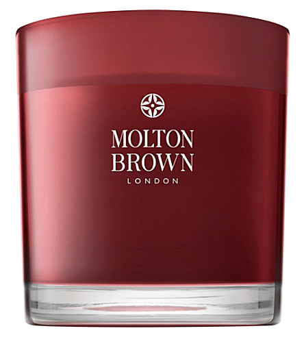 MOLTON BROWN Rosa absolute three-wick candle