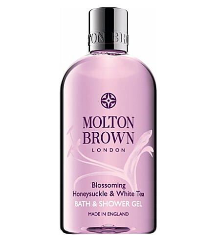 MOLTON BROWN Honeysuckle and white tea body wash 300ml