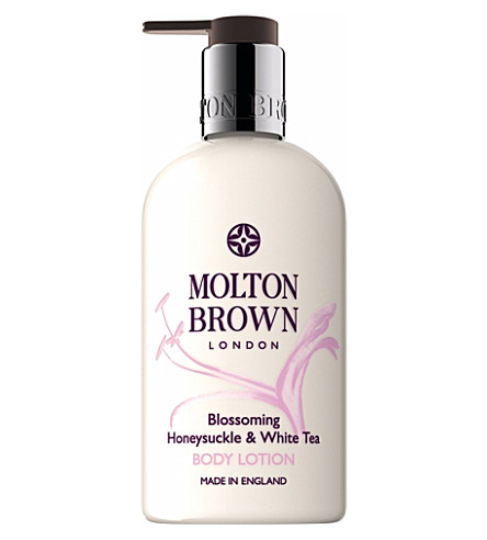 MOLTON BROWN Honeysuckle and white tea body lotion 300ml