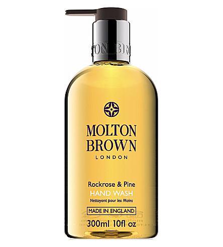 MOLTON BROWN Rockrose & Pine hand wash 300ml
